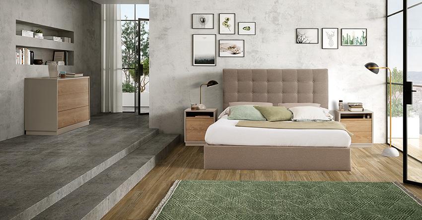 Marcas ld camas tapizadas emueble agencia comercial - Galeria comercial del mueble arganda ...